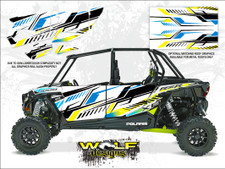 WD-DKB-028 - Polaris RZR XP4 1K White Lightning - Door Kit