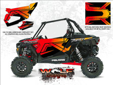WD-DKB-034 - 2017 RZR XP Turbo - Cruiser Black - Door Kit