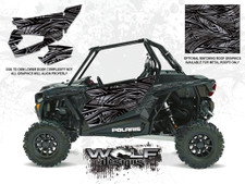 WD-DKB-035 - 2017 RZR XP Turbo - Titanium Matte Metallic - Door Kit