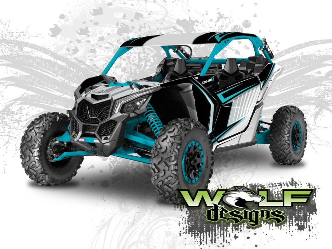 Can-am Maverick X3 Wrap Kit