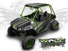 The best RZR 170 graphics wrap kit