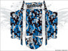 Blue Camo UTV Wrap Kit