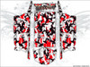 Red Camo UTV Wrap Kit