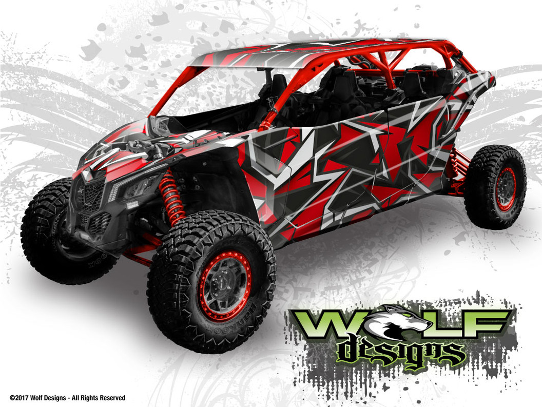 The best Can-am Maverick X3 Max  - UTV Wrap Kit