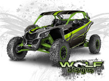 The best Canam Maverick X3 Wrap Kit