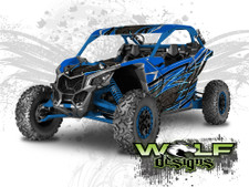 The best CanAm Maverick X3 graphics wrap kit