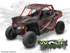 Textron Wildcat XX - UTV Graphics Wrap Kit