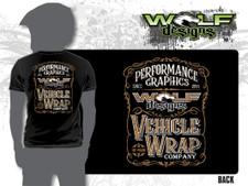 2018 Wolf Designs Whiskey - Mens T-shirt (WD-AP008)