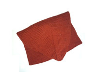 Machault Cap in Madder (rust) red