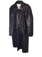 Rubberized rain coat