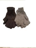 "Men's knit ""driving"" gloves"