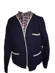 Size L Navy with white trim sweater