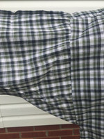 Detail of gusseted sleeve