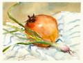 Scallion & Pomegranate
