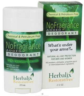 Herbalix Deodorant No Added Fragrance - 2.50 oz .