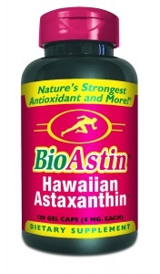 BioAstin Hawaiian Astaxanthin - 4mg. 120 GelCaps - Low Price