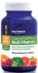 Two Daily Multi-Vitamin Enzymedica - 60ct.  On Sale
