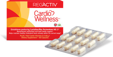 RegActiv - Cardio Wellness- By Essential Formulas