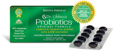 Dr. Ohhira Probiotics Original Formula 60ct. - On Sale- FREE SHIPPING (First Class Mail)