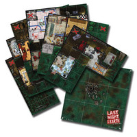 Last Night On Earth Game Boards