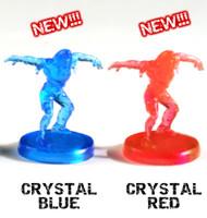 One Last Night On Earth Zombie Miniature Set (Crystal colors)