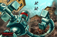 COPE Giant Robot Poster-Art Print *SIGNED*