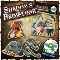 Shadows of Brimstone: Vinyl Sticker Set