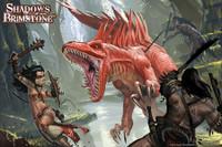 SOBS: Swamp Raptor Attack! Poster/Art Print