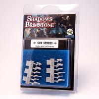 Shadows of Brimstone: RESIN Gun Sprue Minature Set LIMITED EDITION