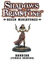 Shadows of Brimstone: Resin Bandida (Female Bandido) LIMITED PREVIEW