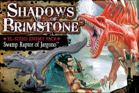 Shadows of Brimstone: Swamp Raptor XL Enemy Pack
