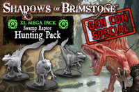 Gen Con Special: Shadows of Brimstone: Swamp Raptor Hunting Pack XL Enemy Set