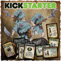 Shadows of Brimstone: Original Kickstarter Backers ONLY Flesh Drones / Cards & Missions Upgrade