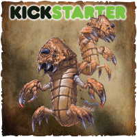 Shadows of Brimstone: Original Kickstarter Backers ONLY Wasteland Sand Crabs Upgrade