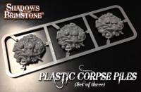 Shadows of Brimstone: Plastic Corpse Piles Set