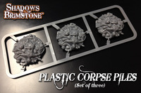 Shadows of Brimstone: Plastic Corpse Piles Set