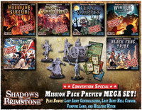 Shadows of Brimstone: Mission Pack Preview Mega Set