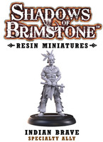 Shadows of Brimstone: Resin Specialty Ally Indian Brave LIMITED PREVIEW