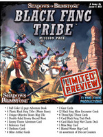 Shadows of Brimstone: Black Fang Tribe Mission Pack LIMITED PREVIEW