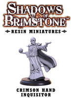 Shadows of Brimstone: Resin Special Enemy Crimson Hand Inquisitor LIMITED PREVIEW