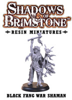Shadows of Brimstone: Resin Special Enemy Black Fang War Shaman LIMITED PREVIEW