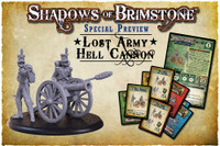 Shadows of Brimstone: Lost Army Hell Cannon LIMITED PREVIEW
