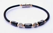 Corded Faceted Beauty Anklet
