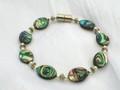 Abalone & Silver Bracelet