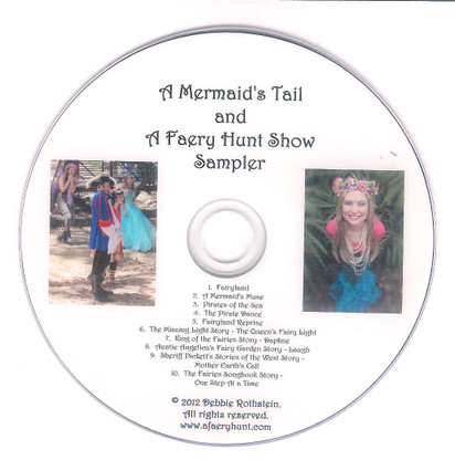 A Mermaid's Tail and A Faery Hunt Show Sampler