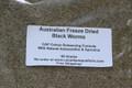 Freeze Dried CAF Colour Enhancing Formula Loose Blackworms 50 Grams