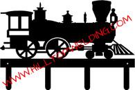 Train Locomotive Tack Hanger Rack