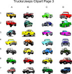 Trucks Jeeps Clipart Page 3