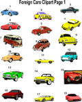 Foreign Cars Clipart Page 1