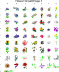 flower clipart page 1